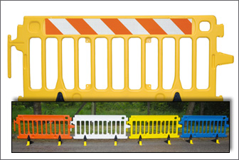 Portable Crowd Control Barriers
