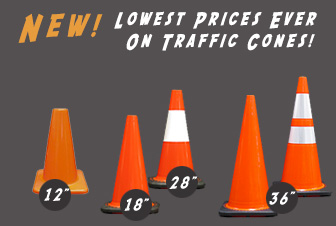 Traffic Cones for Less