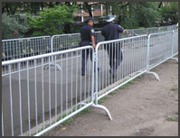 Crowdstopper Steel Barricade