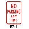 R7-1, No Parking Any Time