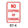 R7-4, No Stopping or Standing