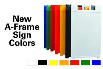 A-Frame Sign Colors