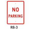 R8-3, No Parking Sign