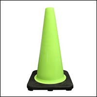 Lime Traffic Cones