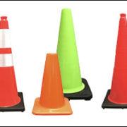 Used Traffic Cones vs New